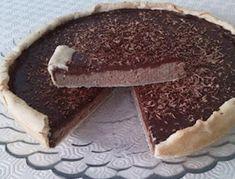 Tarte de Castanhas e Chocolate - http://www.receitasja.com/tarte-de-castanhas-e-chocolate/
