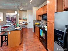 Luxurious living in TwentyOne 01 on Market located in Denver Colorado.