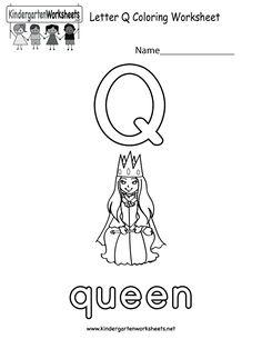 Alphabet Letter R Coloring Page