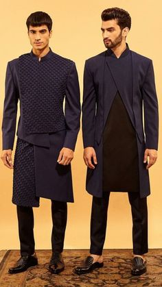super ideas for fashion outfits indian men fashion is part of Wedding dress men - Mens Indian Wear, Mens Ethnic Wear, Indian Groom Wear, Indian Men Fashion, Indian Man, Mens Fashion Suits, Blazer Fashion, Fashion Outfits, Blazer Outfits Men