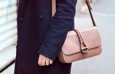 Blogger Daria Daria wearing the beautiful Romy Messenger Bag by Tila March