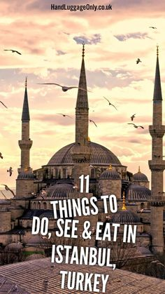 Blue Mosque 11 Things To Do, See And Eat In Istanbul, Turkey - Hand Luggage Only - Travel, Food & Home Blog