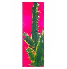 """Cactus 2"" Original Art @flea_pop"