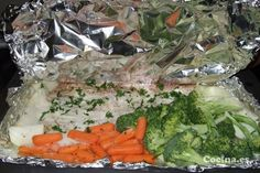 Receta de Filete de pescado al vapor