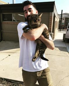 My cat survived a 4 story apartment fire. Thought he was a goner til we found him poking his head out a window the next morning. #aww #cute #cutecats #dinkydogs #animalsofpinterest #cuddle #fluffy #animals #pets #bestfriend #boopthesnoot