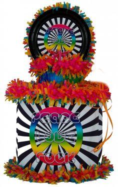 World of Pinatas - Peace Love Rock Pinata, $39.99 (http://www.worldofpinatas.com/peace-love-rock-pinata/)