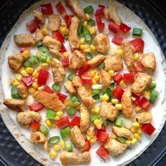 Tortilla wraptaart