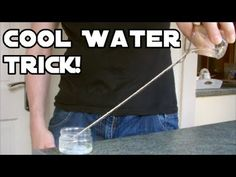 Neat Water Trick With String | SF Globe - Water Surface Tension, and Cohesive and Adhesive forces.