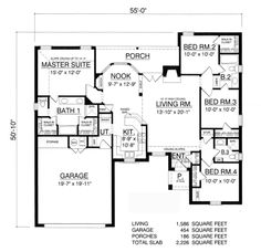 House Plan 42232db in addition Default also Apartment Floor Plans Bedroom Unit Plan Bed Room Tattoo moreover Octagon House Plans With Courtyard likewise House Plans. on four bedroom house plans 600 sq ft