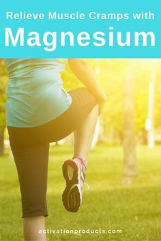 Magnesium helps prevent muscle cramps and spasms. 500mg of magnesium gluconate quickly helped relax and reduce muscle spasms in one study involving an adult female athlete. As a result of exercising outside for long periods, she had been experiencing severe cramping in her muscles.