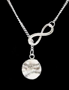 Infinity Baseball Softball Gift For Mom Y by HeavenlyCharmed