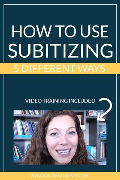 How to Use Subitizing | 5 Different Ways. Have you ever wondered how to use subitizing in your classroom? Subitizing is the ability to instantly recognize 'how many'. In this post, I'm sharing 5 different ways you can use subitizing in your classroom.