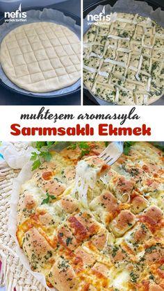 Bagel Recipe Bread Machine, Bagel Bread, Brioche Bread Pudding, Bread Puddings, Bread Recipes, Cooking Recipes, Turkish Breakfast, Good Food, Yummy Food