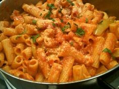 Central NY chicken riggies, a family favorite <3