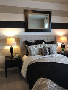 Idee per le pareti della camera da letto   ROMANTICA CASA ...