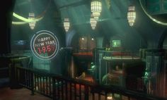 mermaid lounge bioshock 2 - Google Search