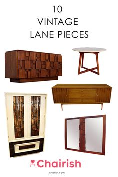 We admit, it's rare that to see one furniture designer master multiple design styles. However, Lane Furniture is definitely one of these rarities. From Brutalist headboards to Hollywood Regency side tables to Mid-Century Modern credenzas, Lane has not only done it all, but done it well. Lane furniture and decor are always high quality, beautiful, and will withstand the test of time, making them great investments. Get started on your collection by shopping these vintage gems from Chairish…
