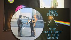 Online veilinghuis Catawiki: Pink Floyd - Wish You Were Here (Limited picture disc! + stickered black shrink, sleeve + postcard) + The Dark Side Of The Moon (Philippines pressing)