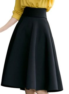 FACE N FACE Women's High Waist A Line Pleated Full Skater Bubble Skirt >>> This is an Amazon Affiliate link. Find out more about the great product at the image link.