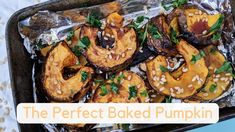 The Perfect Baked Pumpkin - Rebecca Gawthorne - Dietitian & Nutritionist