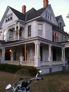 The Logan Mansion in Shreveport, Louisiana.  A Queen Anne 1897 Victorian home.  Said to be haunted!