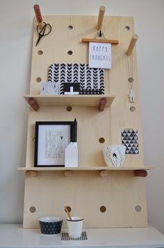 van het kastje naar de muur.: 3x anders: wandbord (gezien in Eigen Huis & Tuin)