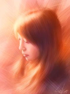 Finger Painting on iPhone by Seikou Yamaoka http://www.seikou-art.com https://www.facebook.com/seikou0714