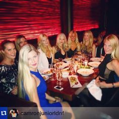 #Repost @camronjuniorldnf  How many #blondes can fit around a #MaddoxClub table? #WeMaddox #GoodTimes