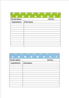 169 best recipe cards images on pinterest printable recipe cards