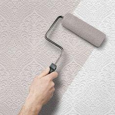 allen + roth White Paintable Wallpaper