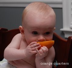 our little beehive: Baby Led Weaning: the First Few Months
