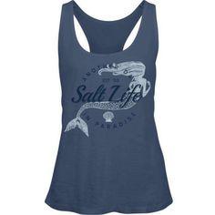 2571423aabe Salt Life Women s Mermaid Paradise Raceback Tank Top
