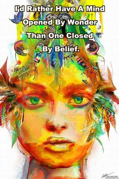 ... a mind closed by beliefs: tht man MUST b the pursuer, tht one cannot abbreviate Net-talk, tht the man must b the elder, tht woman must do wht she is told or lose priviledges ~ b punished... Maybe, u shld rethink some of these staid & musty beliefs...