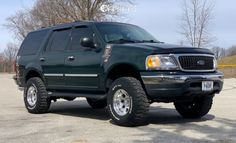 2001 Ford Expedition - 16x10 -38mm - Ion Alloy 171 - Leveling Kit - 305/70R16 Lincoln Aviator, Ford Excursion, Ford Expedition, Aviation, Kit, Gallery, Vehicles, Roof Rack, Car