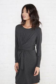 389efe883ac Kim Dress (Anthracite) – Long Sleeve – Amour Vert Jumpsuit Dress