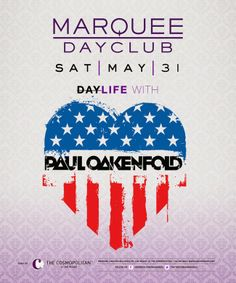 Anew Productions: Paul Oakenfold at Marquee Dayclub MAY 31