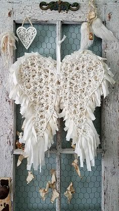 Angel Wings Fabric Wings Wire Wings Wing Wreath Wedding