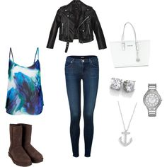 """Blue"" by eldhis on Polyvore"