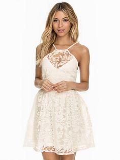 e7c230ad6d Organza Brocade Dress - Club L - Biały - Sukienki Wieczorowe - Odzież -  Kobieta -