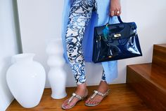 Lock Bag Blu   #bag #fashion #pvc #glamour #outfit #trend #beauty #wyandotte