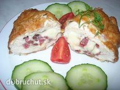 Fotorecept: Babkine kuracie závitky Russian Recipes, Poultry, Sushi, Menu, Eggs, Chicken, Cooking, Breakfast, Ethnic Recipes