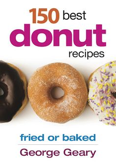 150 best donut recipes cookbook giveaway on Grandbaby Cakes!