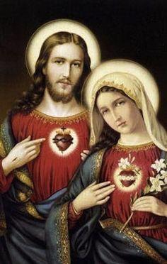 カトリック教会では  コラソンは、神の愛の象徴とされています    イバラのハートはキリスト様  花と矢が刺さったハートはマリア様です