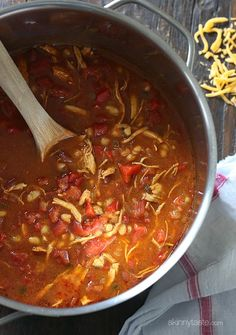 BBQ Chicken Chili | Skinnytaste