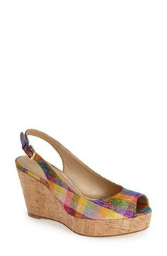 Stuart Weitzman 'Jean' Wedge available at #Nordstrom