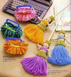 Patrones Crochet: Muñecas Hawaianas de Crochet