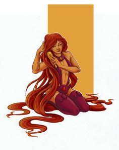 Starfire by selena-goulding.deviantart.com on @DeviantArt
