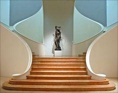 Grand escalier du Musée des Beaux-Arts
