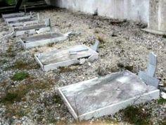 Greek WWI Cemetery Vandalised in Macedonia - http://www.warhistoryonline.com/war-articles/greek-wwi-cemetery-vandalised-in-macedonia.html