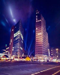 Lights at Potsdamer Platz in Berlin  #berlin #germany #reisen #lights #beautiful #reise #travel #traveling #reiseblog